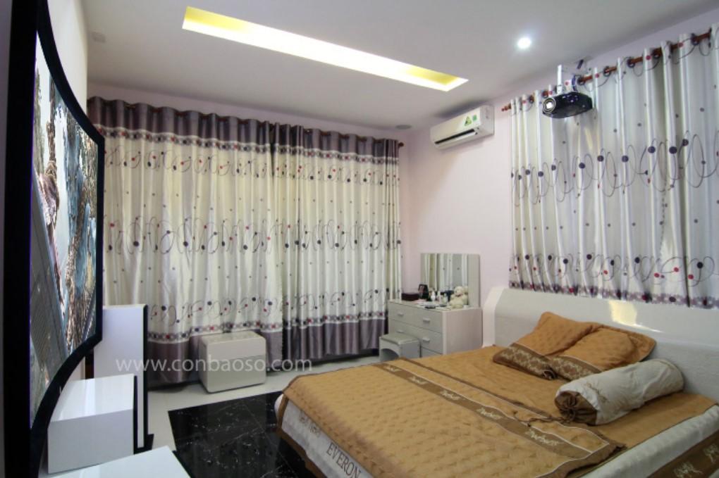 Dự án lắp đặt thiết bị chiếu phim trong phòng ngủ tại quận Bình Tân