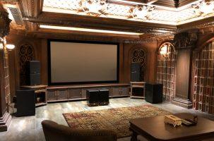 Dự án phòng chiếu phim tại gia cao cấp bậc nhất tại khu biệt thự Chateau - Quận 7
