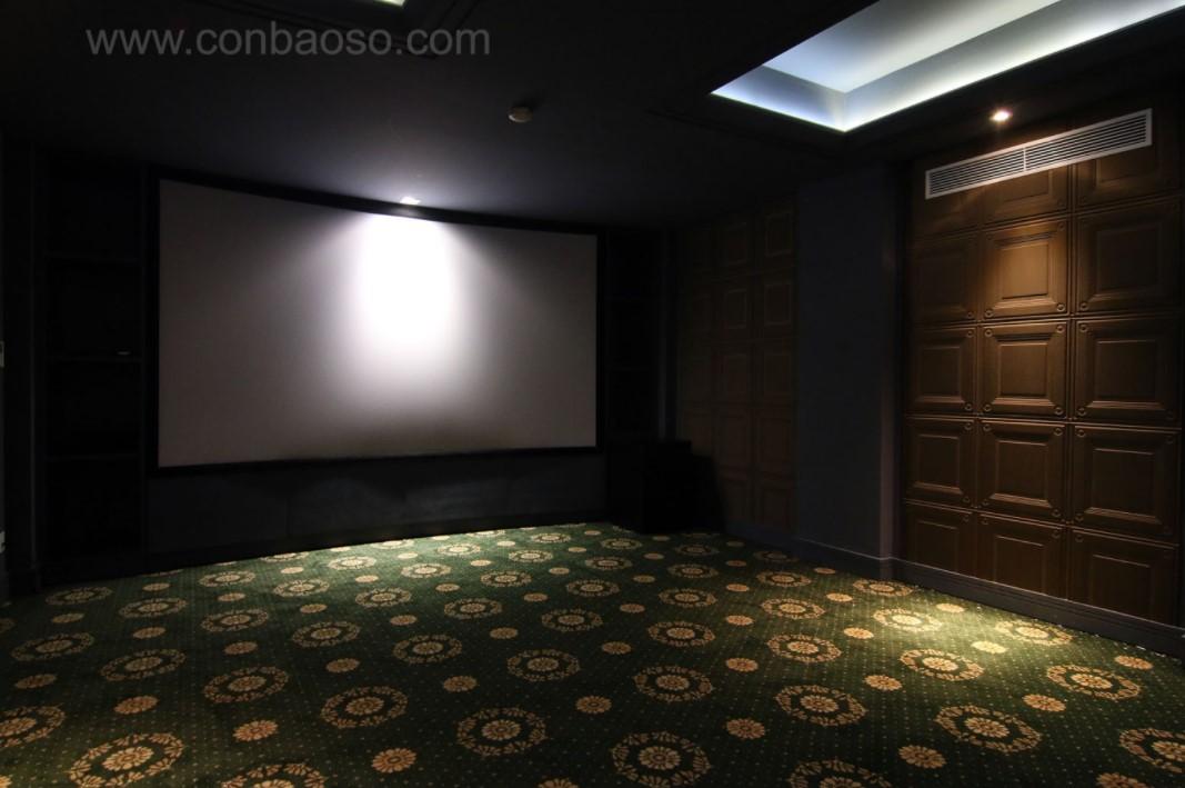 Hệ thống âm thanh THX vô hình trong không gian thưởng thức phim đẳng cấp