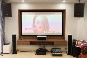 Lắp đặt phòng chiếu phim gia đình kết hợp Karaoke tại Quận Tân Bình