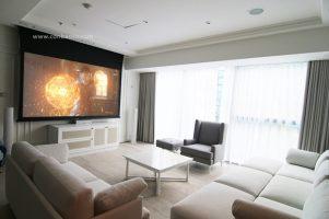 Phòng chiếu phim 4K đẳng cấp tại căn hộ Vinhomes