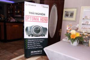 hinh anh trai nghiem may chieu Optoma HD90