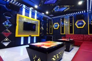 Công trình thiết kế nội thất, lắp đặt thiết bị phòng giải trí, karaoke gia đình nhà phố Quận 6