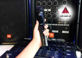 chống hú dàn karaoke